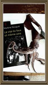 Illustration Le vrai du faux et même pire de Martine Nougué
