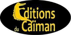 Editions du Caiman logo jaune et noir