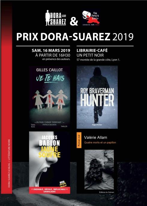 évènement affiche PRIX DORA SUAREZ 2019